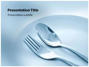 Amazon restaurant powerpoint templates template on restaurant powerpoint templates template on restaurant spoon and plate powerpoint template toneelgroepblik Image collections
