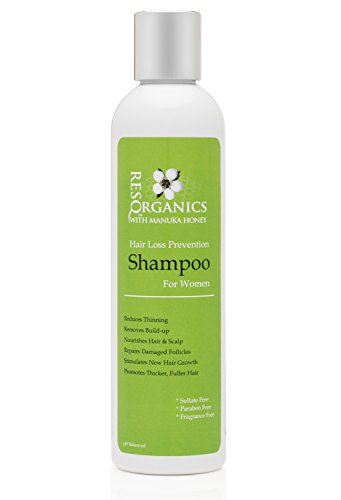 Thick & Nutrient Rich pH Balanced Shampoo - PREVENT HAIR LOSS, Reduces Itching, Dryness, Frizz, Thinning and Breaking - LOVE YOUR HAIR AGAIN!
