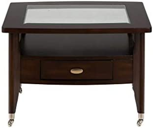 Jofran Montego Merlot Round Cocktail Table
