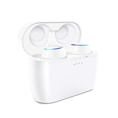 Mini Auriculares Inalámbricos, Auricular Bluetooth 4.1 con Micrófono, Función de Reducción de Ruido Estéreo con Manos Libres Compatible con la Mayoría del Dispositivo Bluetooth (S-E6)