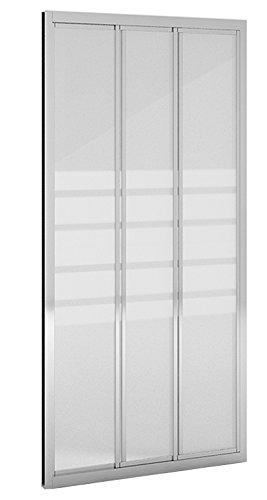 Mampara ducha_PdM_FRONTAL SERIGRAFÍA 2 puertas correderas (90cm ...