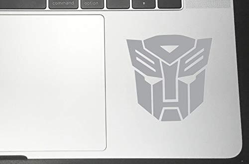 Laptop Autobot - Autobot Vinyl Sticker Decals for Car Bumper Window MacBook Laptop [Silver, 2