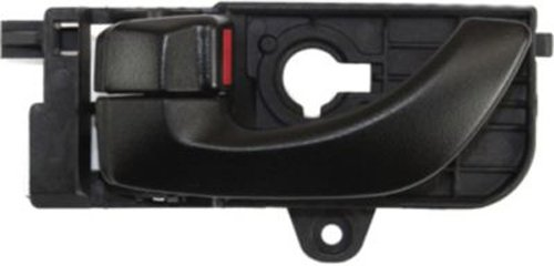 OE Replacement Front Driver Side Black Interior Door Handle with Door Lock Button for Hyundai - REPHY462162