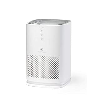 Medify MA-14W Medical Grade Filtration H13 HEPA Air Purifier for 200 Sq. Ft. (99.9%) Allergies, dust, Pollen, Perfect for Office, bedrooms, dorms and Nurseries - White