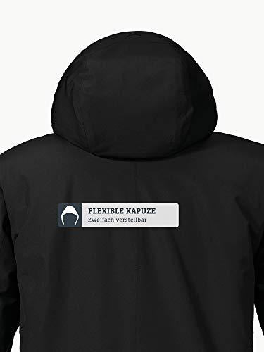 Schöffel Insulated Jacket Belfast2, wind- und wasserdichte Winterjacke, warme und atmungsaktive Outdoor Jacke mit höchstem Tragekomfort Herren, black, 48 7