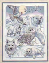 Dimensions North American Beauties Counted Cross Stitch Kit