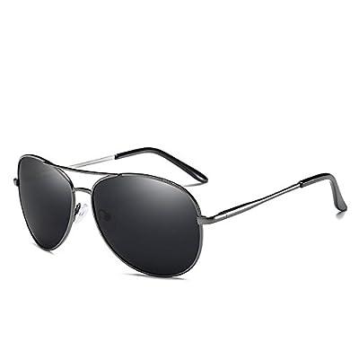 LXKMTYJ Les lunettes de soleil Hommes et femmes est le polariseur miroir Crapaud coloré à l'homme Lunettes Rétroréfléchissante les chauffeurs de taxi pour les yeux, aux armes à feu fo