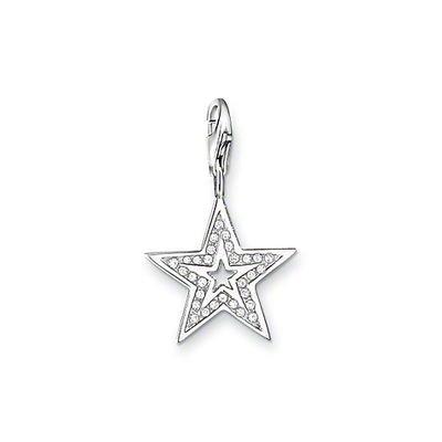 Thomas Sabo Glitter Star Charm, Sterling Silver