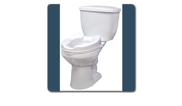 Swell Amazon Com Raised Toilet Seat Without Lid 2 4 Or 6 Inch Gamerscity Chair Design For Home Gamerscityorg