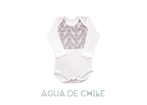 Body niña, 3 a 6 meses, color lila con bordado hecho a mano, ropa para bebe reborn