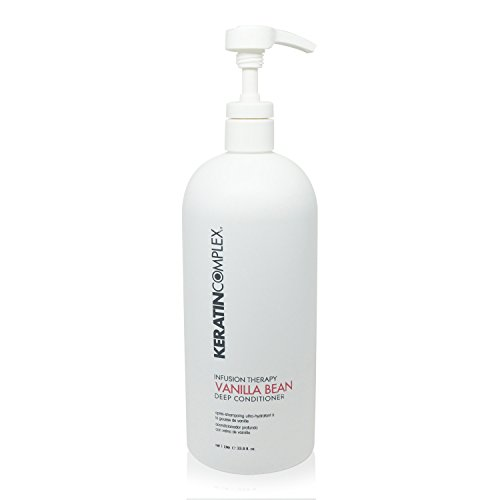 - Keratin Complex Infusion Therapy Vanilla Bean Deep Conditioner 33.8 Oz - NEW LOOK!