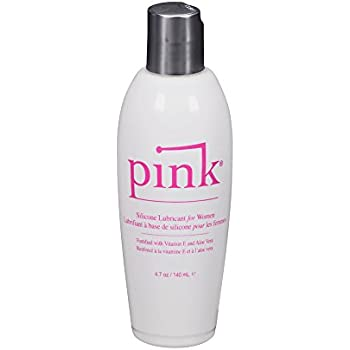 Pink Silicone Sexual Lubricant, 4.7 Ounce