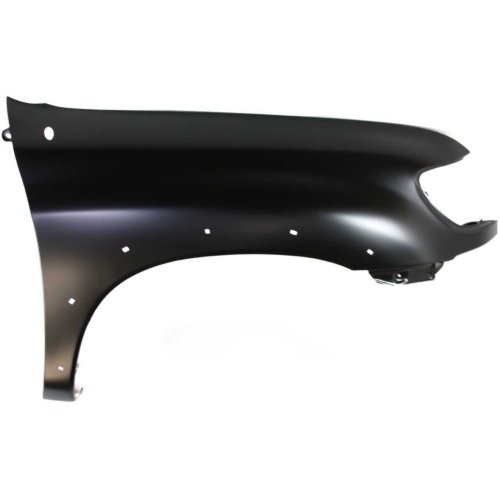 - Evan-Fischer EVA16972051383 Front Fender Primed Passenger Side For 2000-06 Toyota Tundra W/Flare Holes Standard(Regular)/Extended(Access) Cab