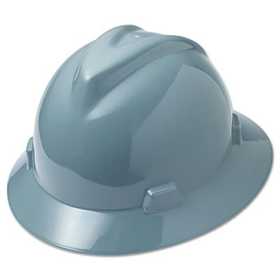 V-Gard Hard Hats, Fas-Trac Ratchet Suspension, Size 6 1/2 - 8, Gray, Sold as 1 Each
