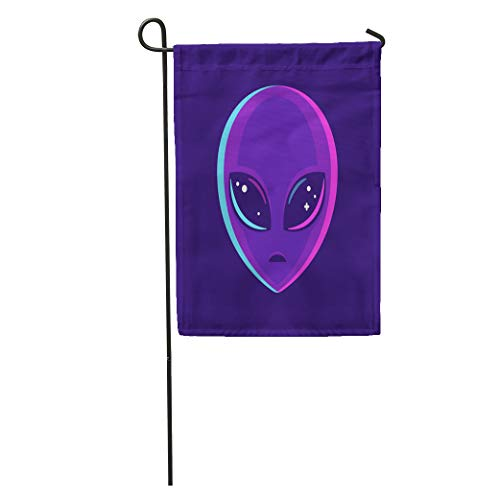 Semtomn Garden Flag Purple Bright