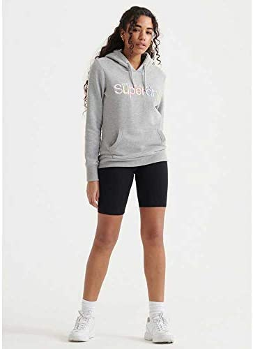 Superdry Classic Rainbow Sweatshirts Vêtements Femme Grey Marl