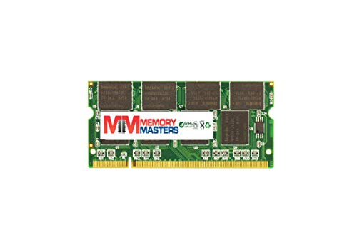 MemoryMasters 1GB DDR2 400MHz PC2-3200 200-pin SODIMM Laptop Memory RAM