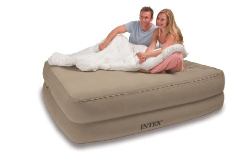 Intex Foam Top Airbed Kit, Queen Airbed, Outdoor Stuffs