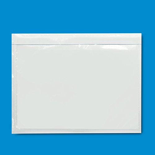 200 pk Clear Adhesive Top Loading Packing List Shipping Label Envelopes Pouches