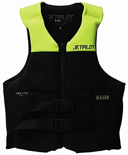【JCI予備検査承認】JETPILOT(ジェットパイロット) 2019年モデル VENTUREネオベストイエロー Sサイズ(胸囲/89~94cm)  B07PYVHCKX