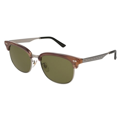 Sunglasses Gucci GG 0051 SA- 004 HAVANA / GREEN RUTHENIUM