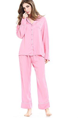 Pink 2 Piece Pajamas - 6