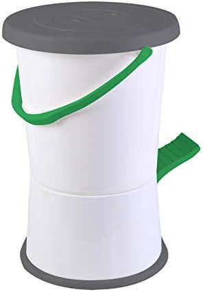 Bo-Camp - Máquina de lavar, color blanco/verde/gris
