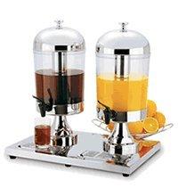 Focus Foodservice KPW9502 Cold Beverage Dispenser Double Server, 8.5-Quart (Dual Cold Beverage Dispenser compare prices)