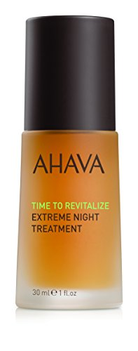 AHAVA Extreme Night Treatment with Dead Sea Minerals, 1oz./30ml