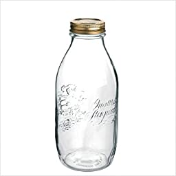 Bormioli Rocco Quattro Stagioni 33 3/4 Canning Bottle, Set of 12