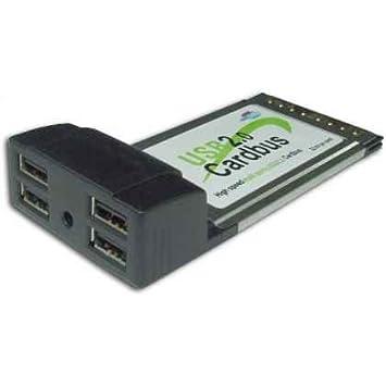 TARJETA PCMCIA SATYCON USB 2.0 4 puertos: Amazon.es: Electrónica