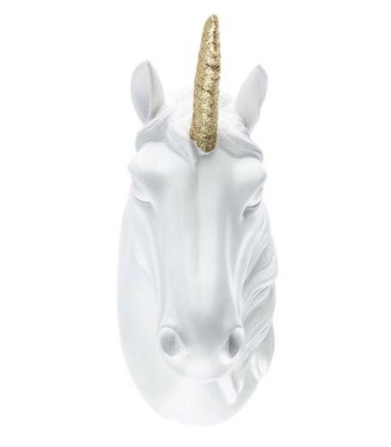 Unicorn Head Hanging Wall Decor Large Detail