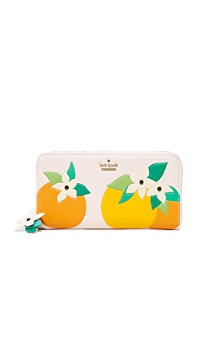 Kate Spade New York Women's Orange Blossom Lacey Wallet, Multi, One Size by Kate Spade New York