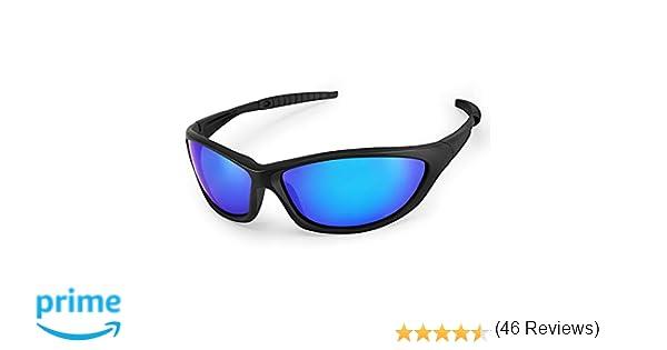 LATEC Gafas de Sol polarizadas, Gafas de Sol Deportivas para Unisex con 100% de protección UVA & Protección UV400, Marco irrompible TR90 para Deportes al ...