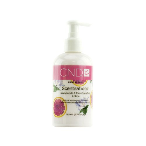 CND Scentsations Hand & Body Lotion Honeysuckle & Pink Grapefruit, 8.3 Fl Oz Body Scentsations Lotion