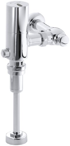Kohler K-10668-CP Wave DC 1/8Th (0.125) gpf Flush Valve, Polished Chrome by Kohler
