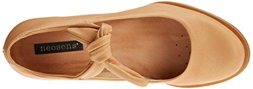 con Suave de Wood para Tacon Marr Tobillo Beba y Mujer Correa Neosens S938 Zapatos 5XqzBw