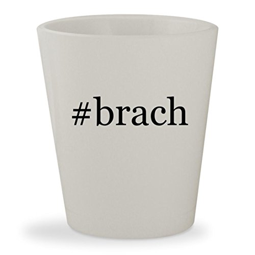 #brach - White Hashtag Ceramic 1.5oz Shot Glass