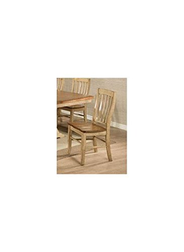 Quails Run 19 in. Rake Back Side Chair - Set of 2