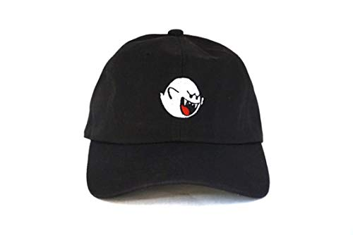 - Mario Ghost Hats The Exclusive Release Dad Hat Men Women Baseball Cap Cartoon Lovers Snapback No Structure,A