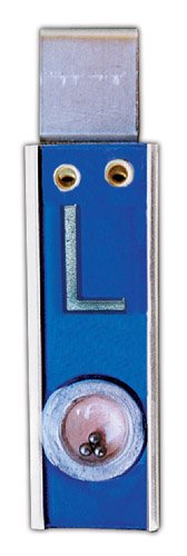 X-Ray Markers, Clipper Style - Positioner Beads, No Initials, L&R 3/4'', Vertical