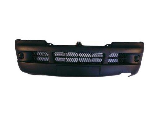 BLACK WITHOUT FOG LIGHT HOLES Aftermarket FI84200 FRONT BUMPER