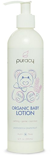 Puracy Organic Baby Lotion - The BEST Calming Moisturizer - Gentle -...