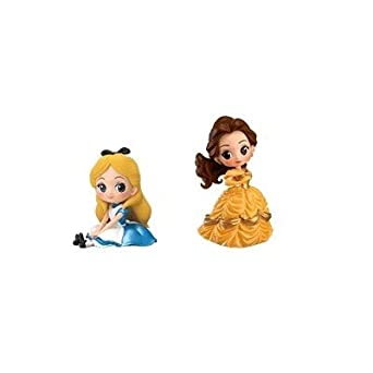 amazon disney characters q posket petit girls festival 2種 セット