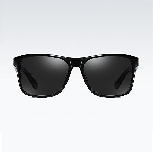 de De de Nocturna Azul Negro Retro de Gafas de Cristal ksung Sol Modo Azul Visión Gafas Mar Deporte de polarizadas Colores clásica Sol de 7wXpTXFSqx
