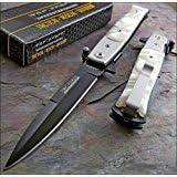 "TAC-FORCE PEARL 4"" Black Blade Knife Brand NEW!"