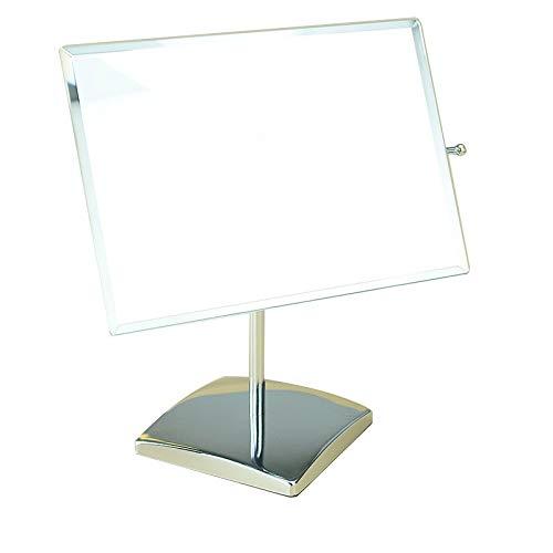 (Huolirong Makeup Mirror Mirror Square Makeup Mirror Desktop Vanity Mirror high List Mirror Home Beauty Care)