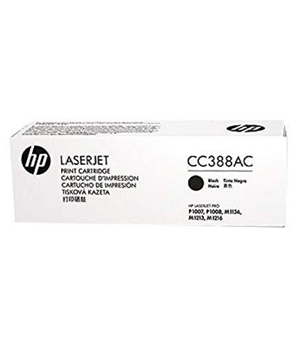 HP CC388AC Laserjet Toner Cartridge  Black