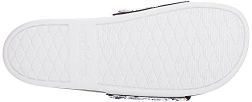 Cf Slide Adidas White W Logo Sandal black white Women's Adilette wEZrqXZ
