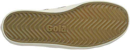 Off Coaster Brown Velvet Donna Sneaker Mink White Gw Gola S1waT